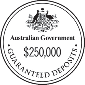 Australian Government Guarantee Seal