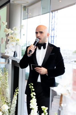 2019 Charity Brunch- Master of Ceremonies Jade El Chouefati